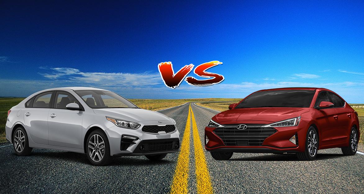 Comparativa Kia Forte 2019 2 0l Ex Premium Ivt Vs Hyundai