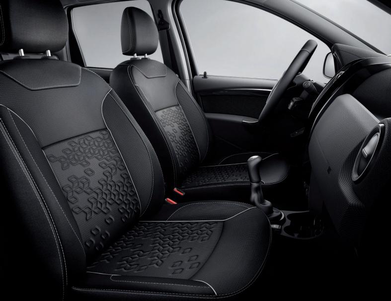 Vista interior de la Renault Oroch 2019