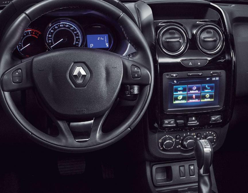 Aspectos tecnológicos de la Renault Oroch 2019