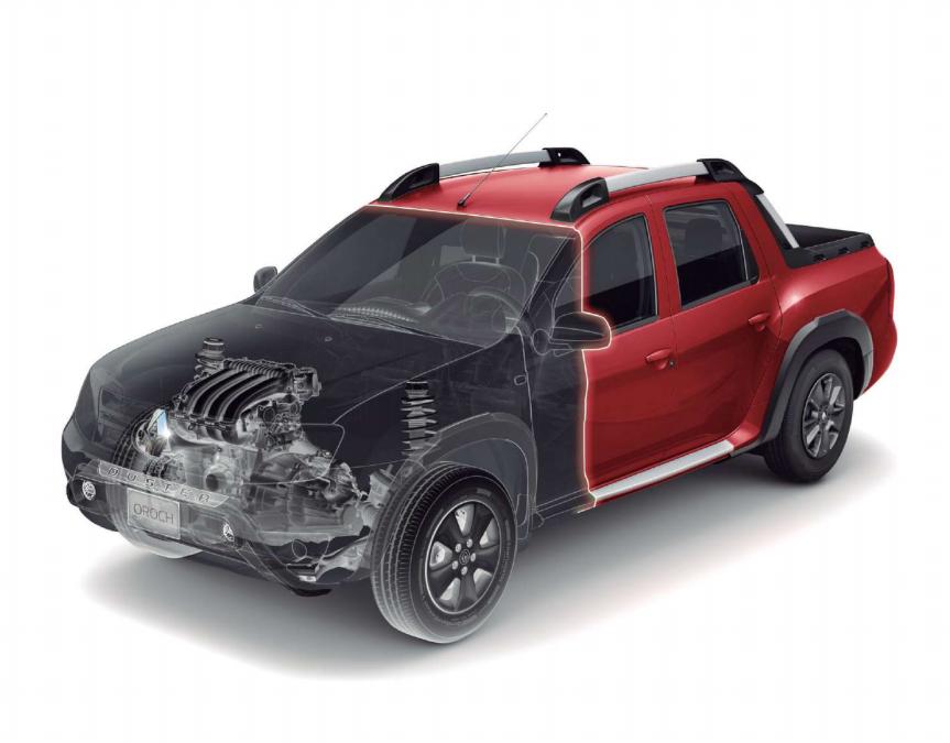 Radiografía de la Renault Oroch 2019
