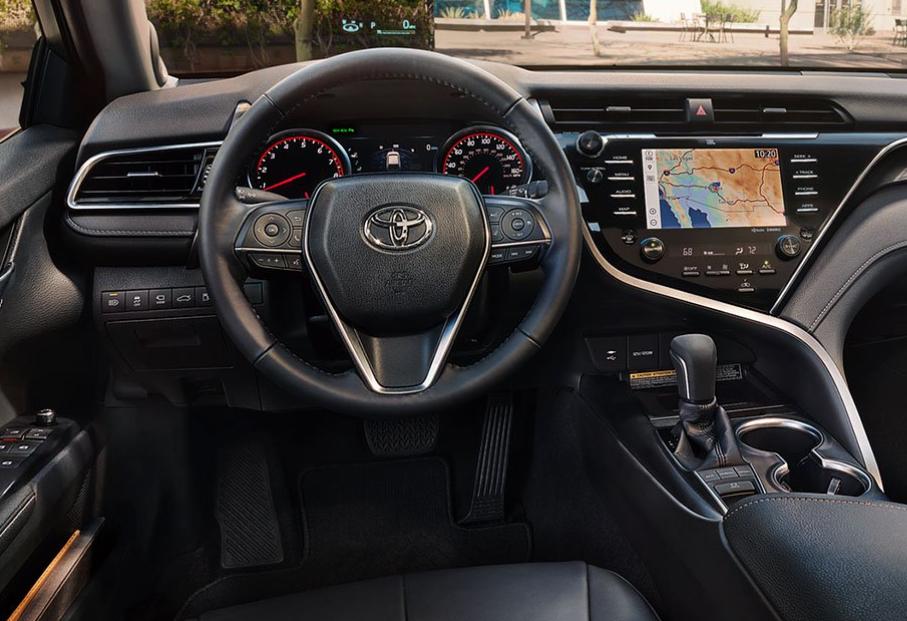 interior de auto camry 2019