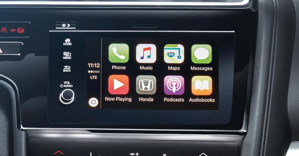 Honda Fit 2019 Pantalla touchscreen