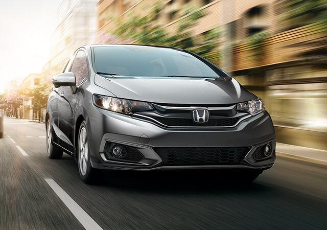 El Honda Fit se desplaza