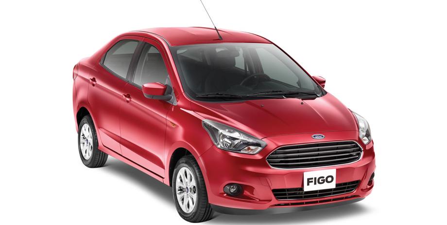 Ford Figo en exhibición