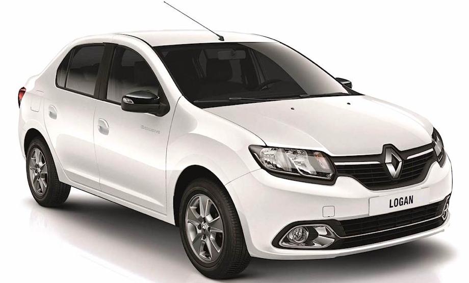 Renault Logan en exhibición