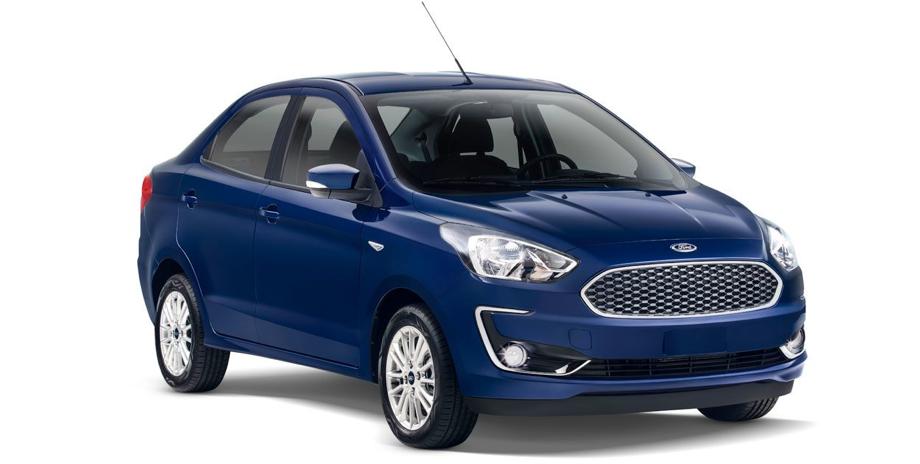 Ford Figo exhibido