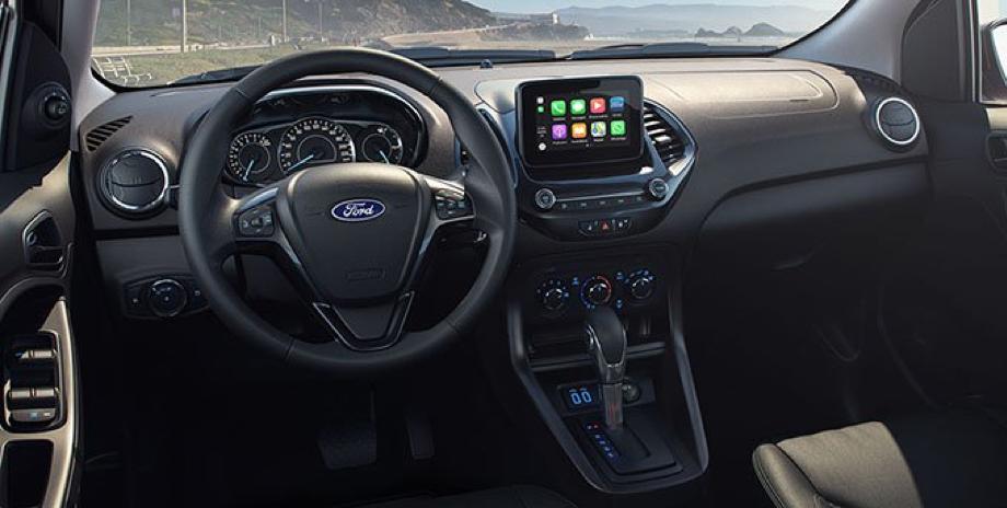 Interior del Ford Figo