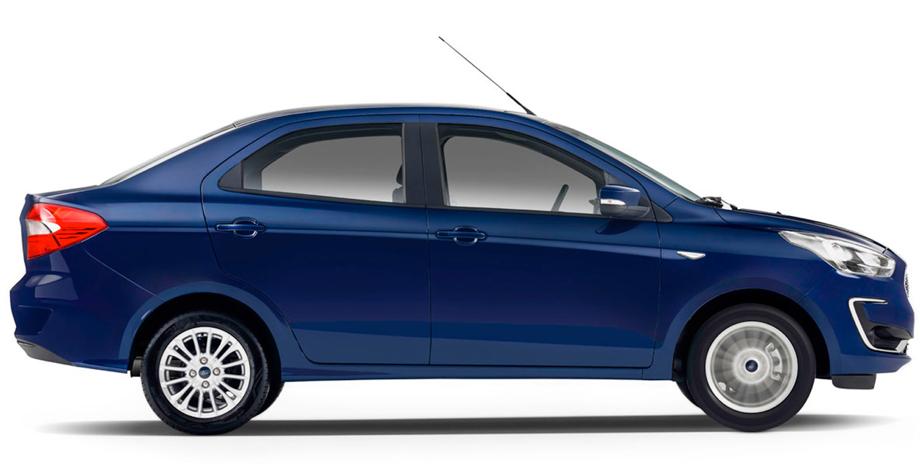 Renault Figo de forma lateral