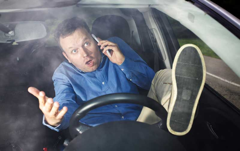 Malos hábitos conducción