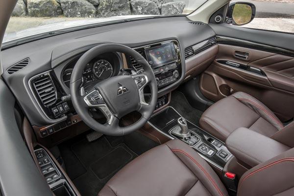Outlander PHEV interior