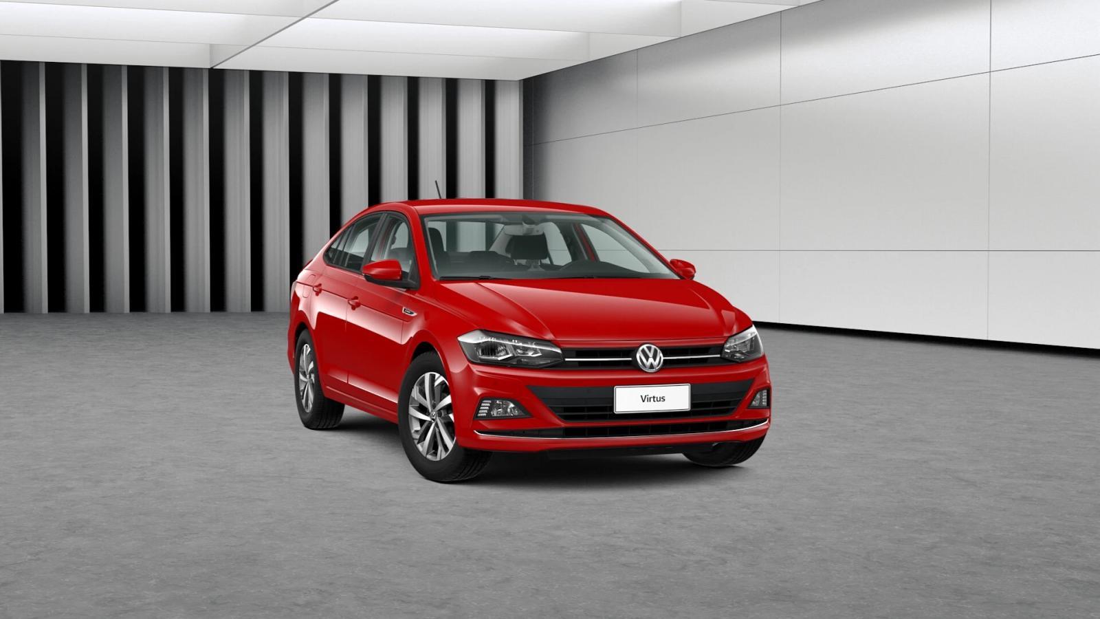Volkswagen Virtus Precio rojo