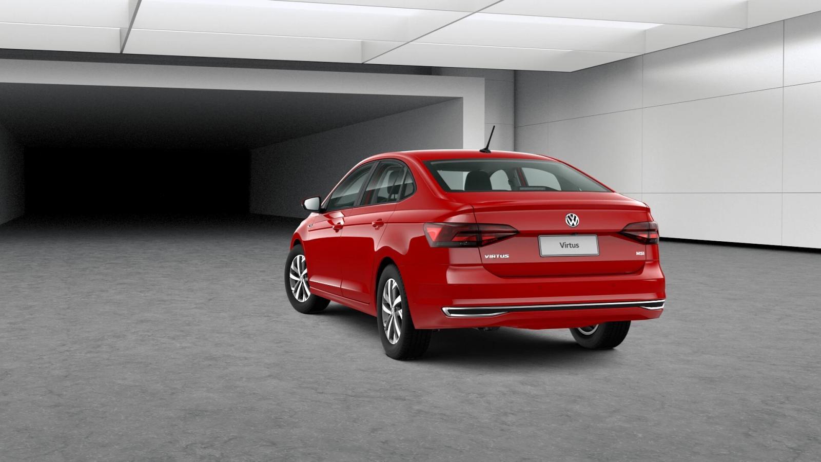 Volkswagen Virtus Precio parte trasera