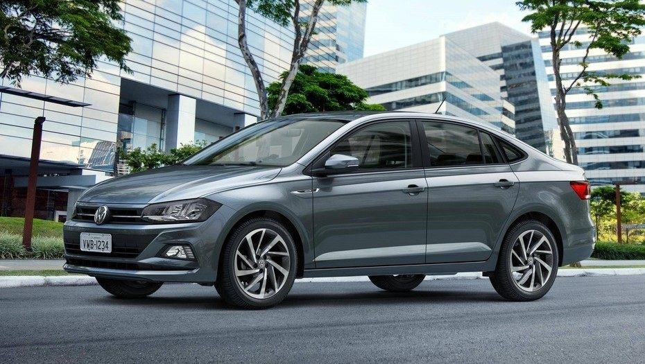 Volkswagen Virtus gris