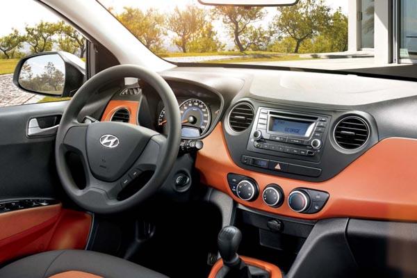 Hyundai Grand i10 Precio consola central