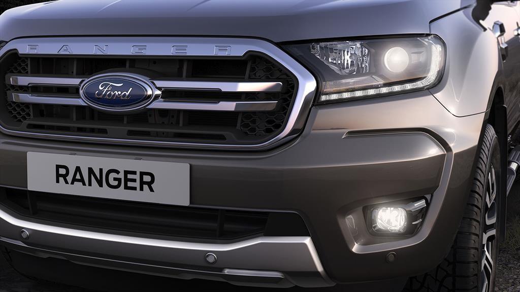 Ford Ranger frente