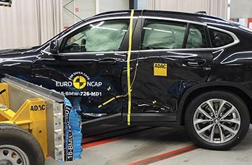 BMW X4 Euro NCAP