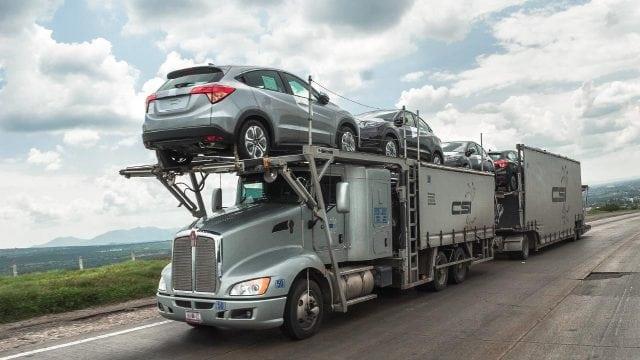 Trasladando vehículos