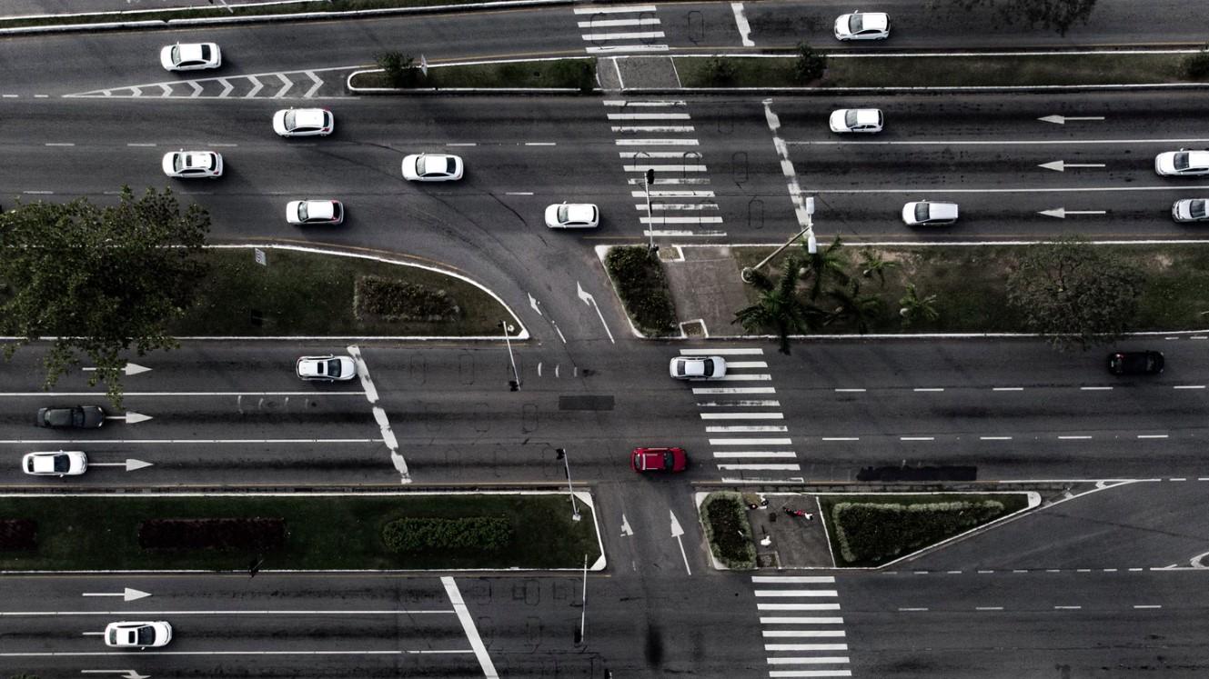 monitoreo de tráfico con Inteligencia Artificial