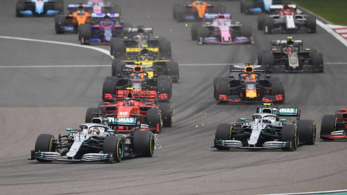 F1 coches