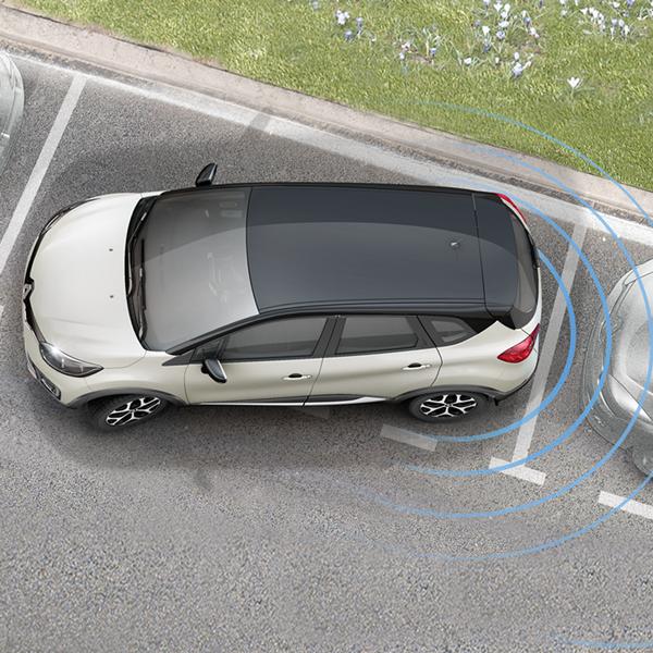 Renault Captur intens seguridad