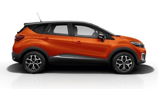 Renault Captur intens naranja