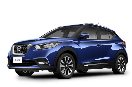 Nissan Kicks Sense azul