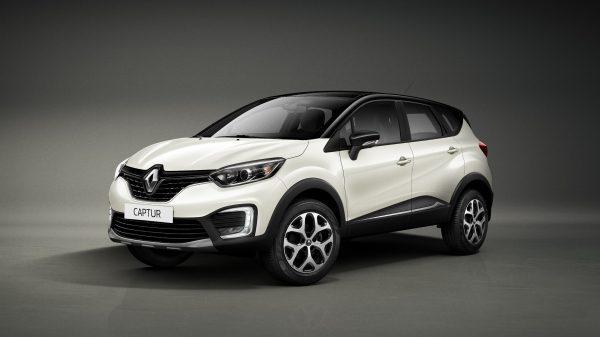Renault Captur intens blanca
