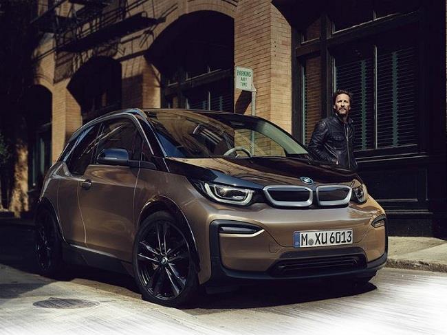 Modelo BMW eléctrico