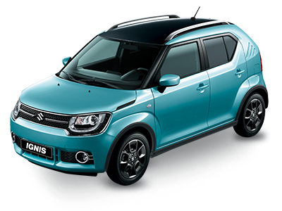 Suzuki ignis precio azul