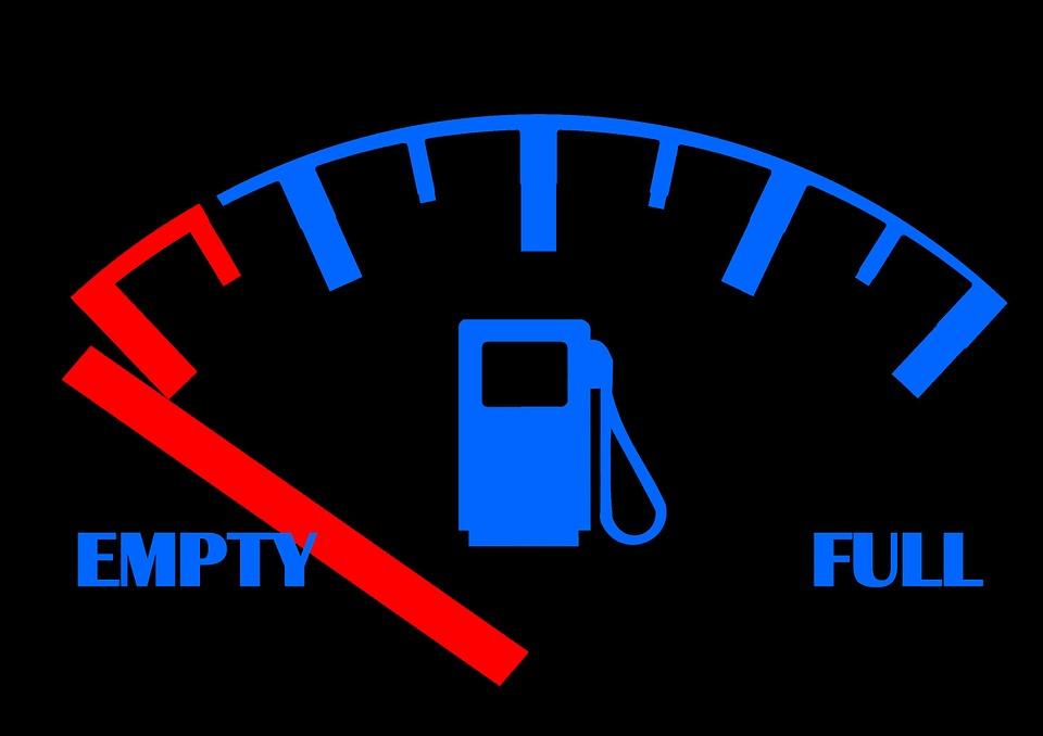 Quedarte sin gasolina