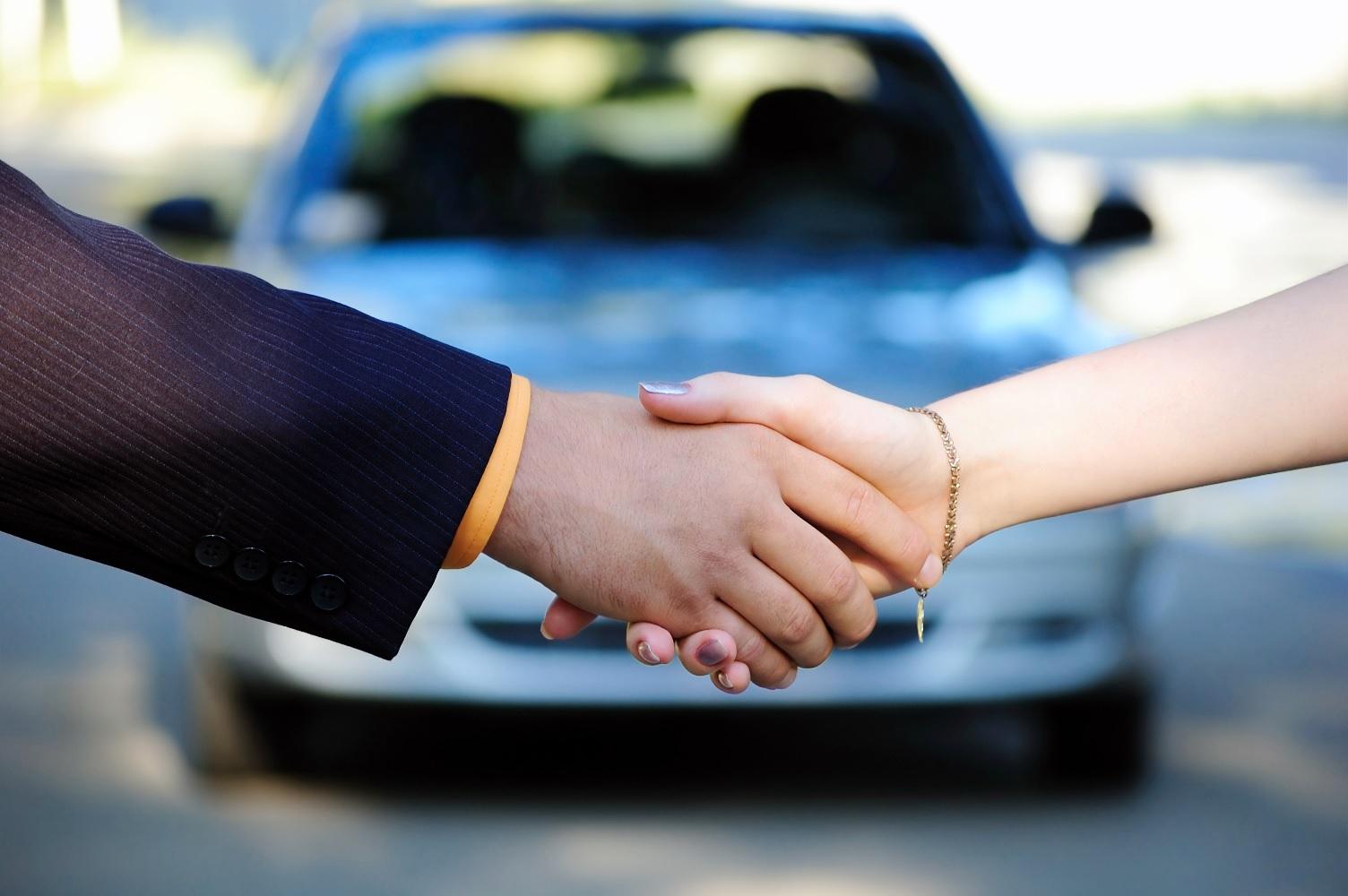 Trato auto venta