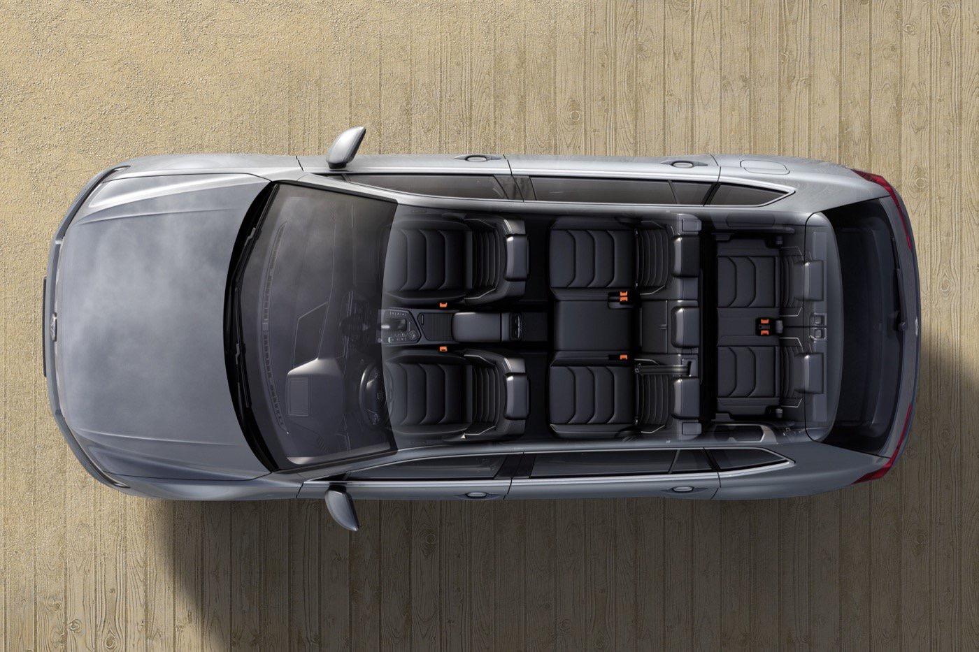 Volkswagen Tiguan Comfortine 7 pasajeros