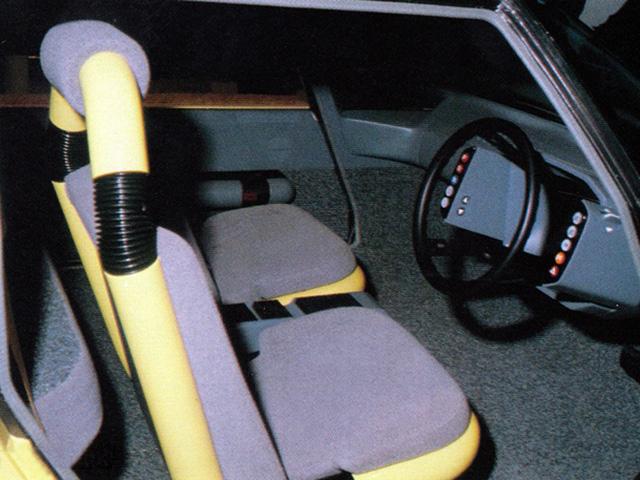 FCX-80 interior