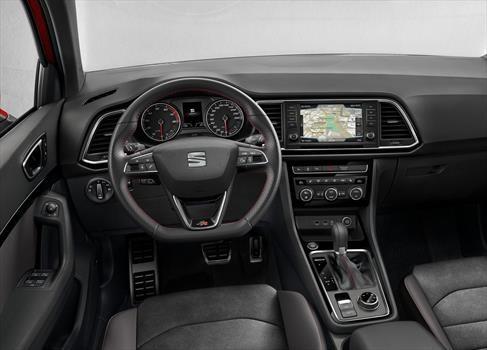 seat ateca precio interior