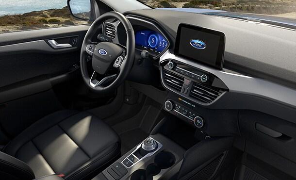ford escape hibrida interior