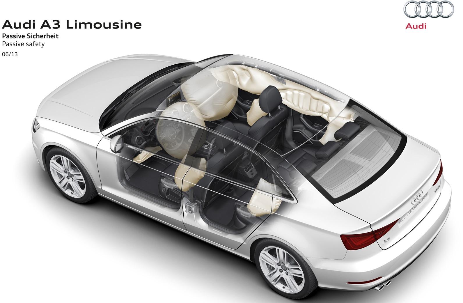 Audi A3 Sedán airbags