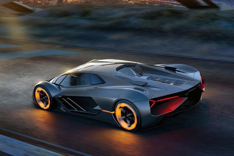 Lamborghini Terzo Millennio rodando