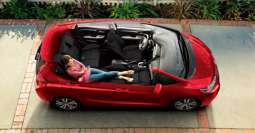 Honda Fit Fun interior