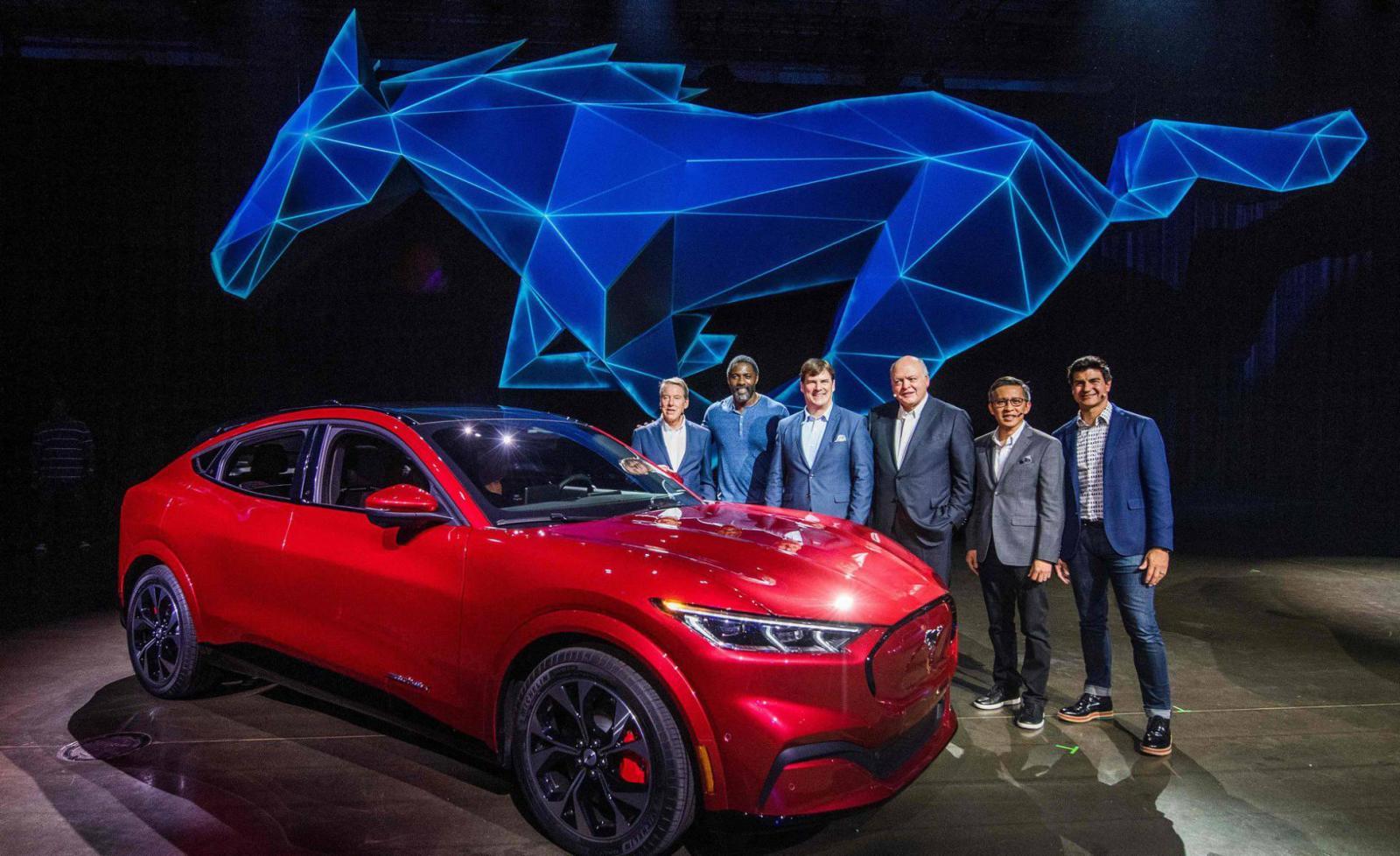 Mustang Mach-e presentación