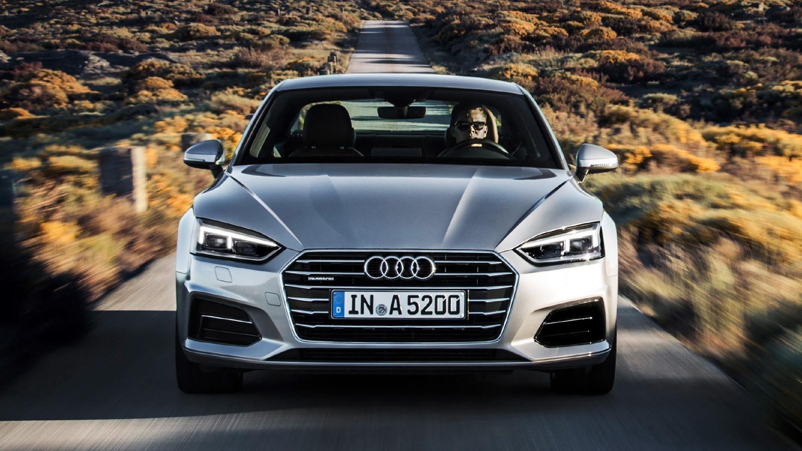 Audi A5 S Line Quattro rodando