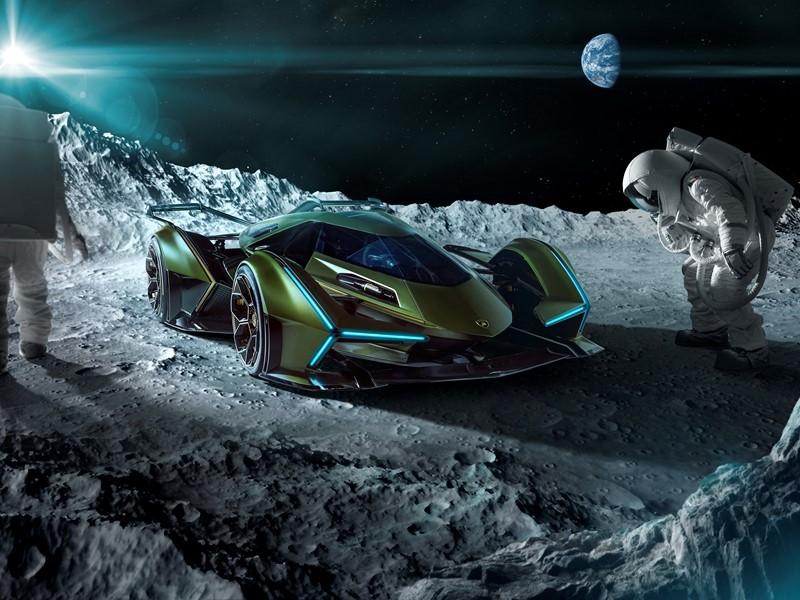 Lambo V12 GT luna