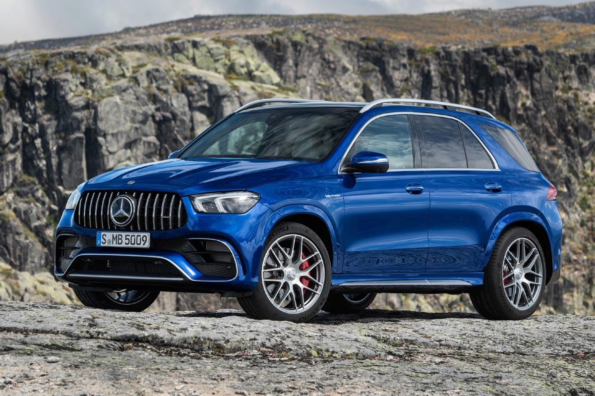 Mercedes-AMG GLS 63 4MATIC en terreno