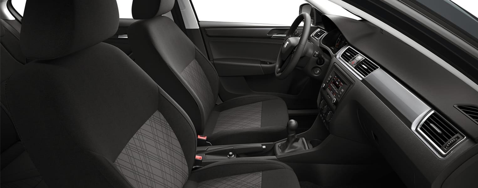 Interior del SEAT Toledo Reference