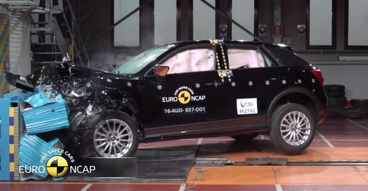 Audi Q2 Euro NCAP