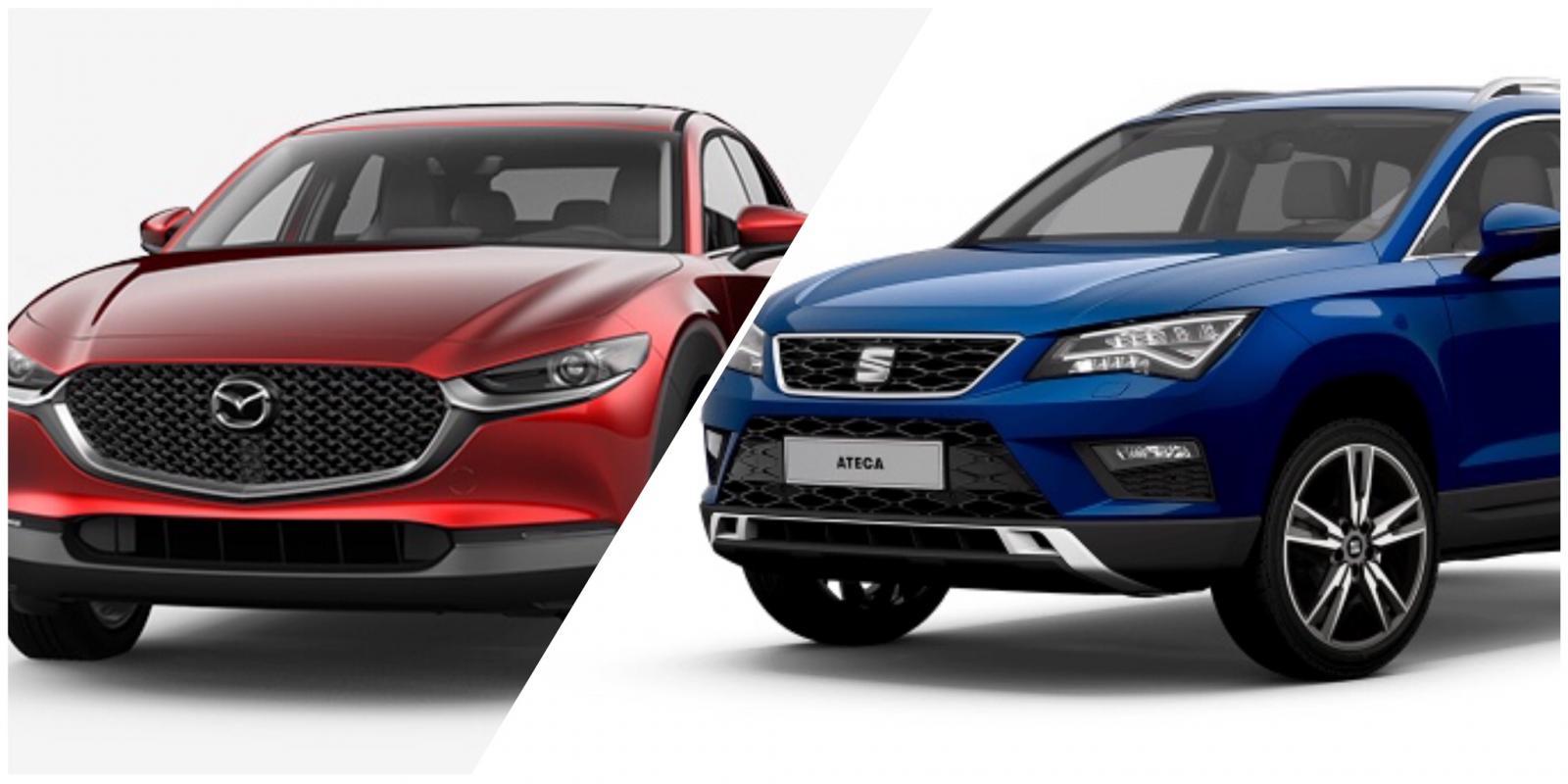 Mazda CX30  vs SEAT Ateca