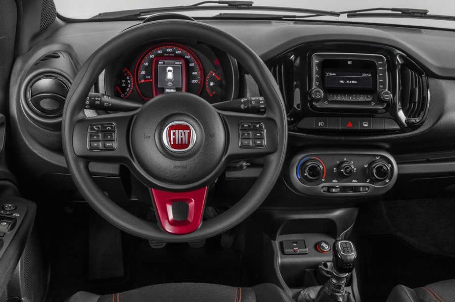Interior del Fiat Uno