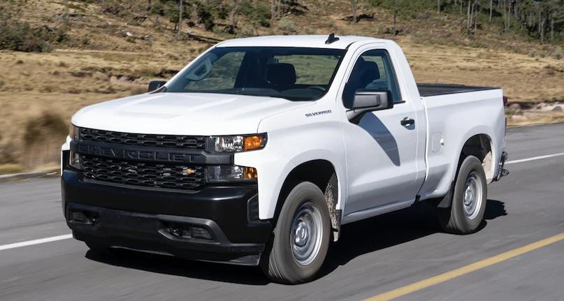 precios de Chevrolet Silverado 2020