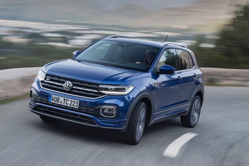 Volkswagen T-Cross rodando