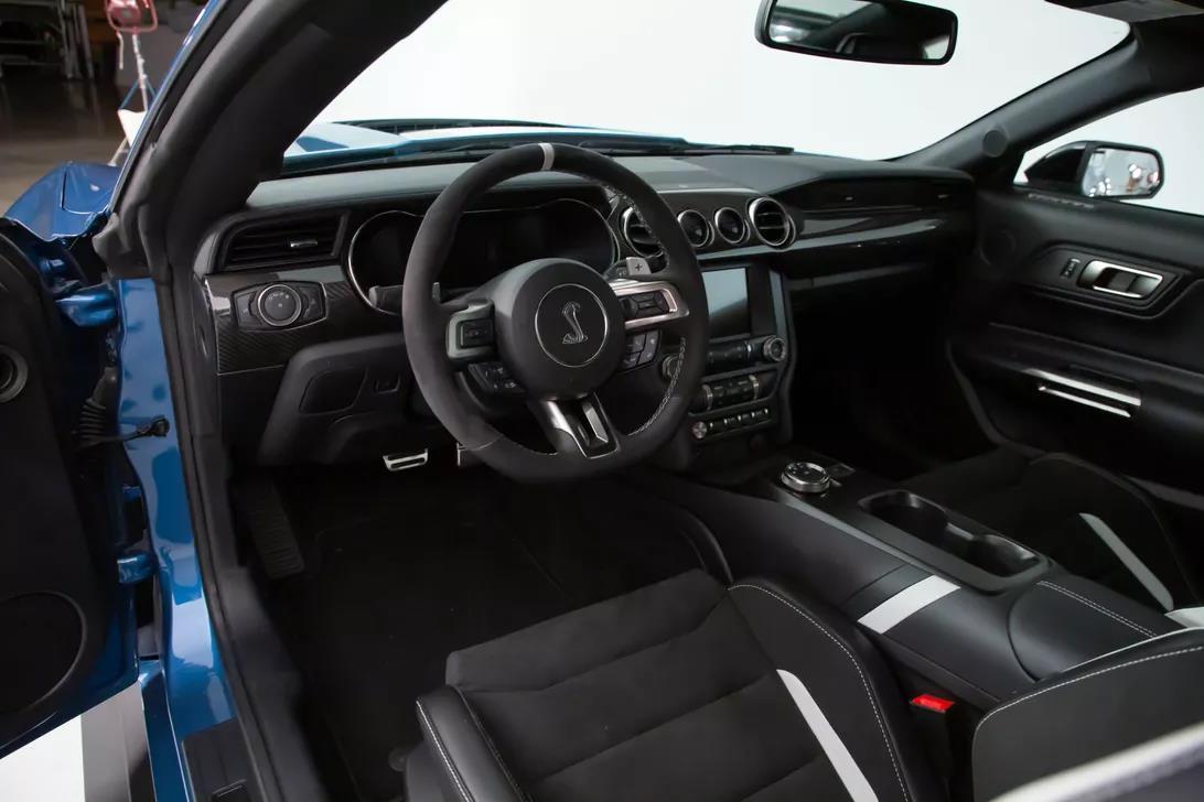 Interior del Mustang Shelby GT500
