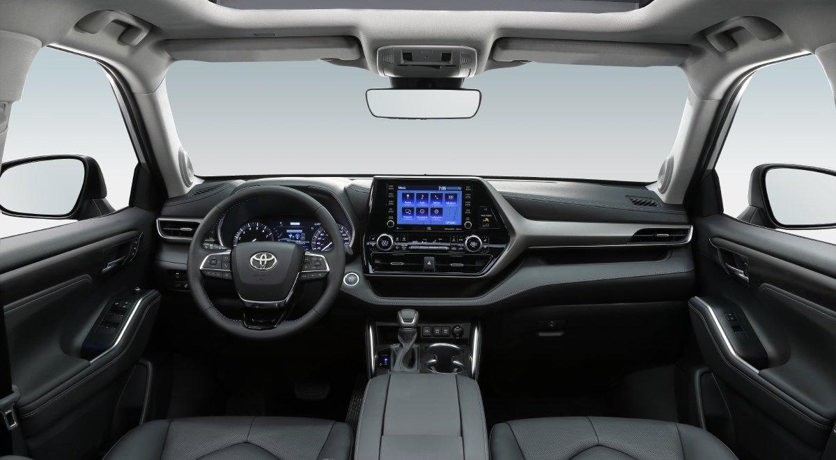 Toyota Highlander precio habitaculo
